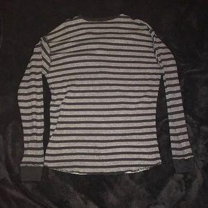 deb9decefa32 Jordan Craig Shirts - Men s Jordan Craig black white henley shirt sz L